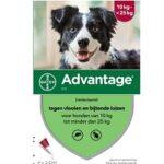 8. Bayer Advantage 250 Vlooiendruppels Hond