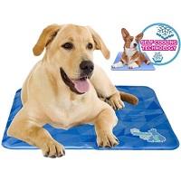 Cool Dog Koelmat 247 - 90x60 cm - L - Blauw