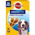 1. Pedigree Dentastix Medium Kauwstaaf