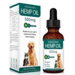 4. Premium BIO Hennepolie Hond - 100% Veilig - Kalmerend